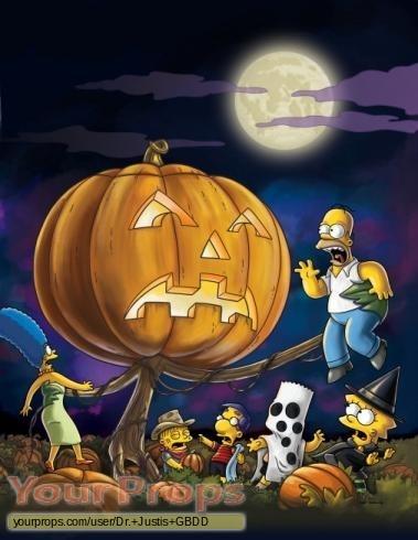 The Simpsons original production artwork
