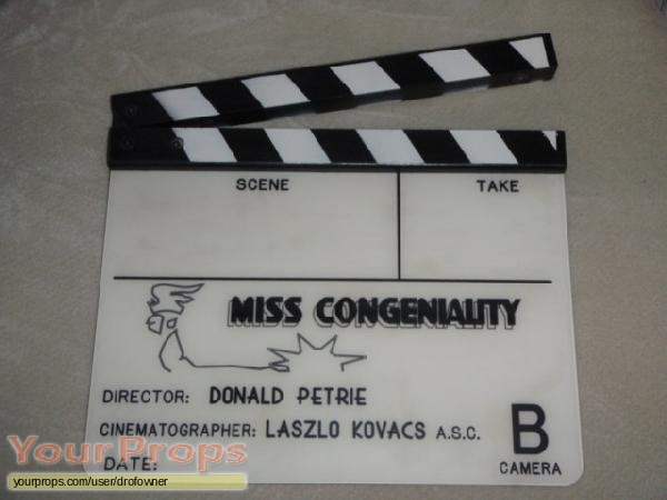 Miss Congeniality original production material