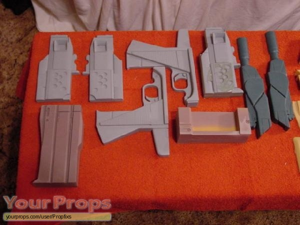 Special Unit 2 original movie prop weapon