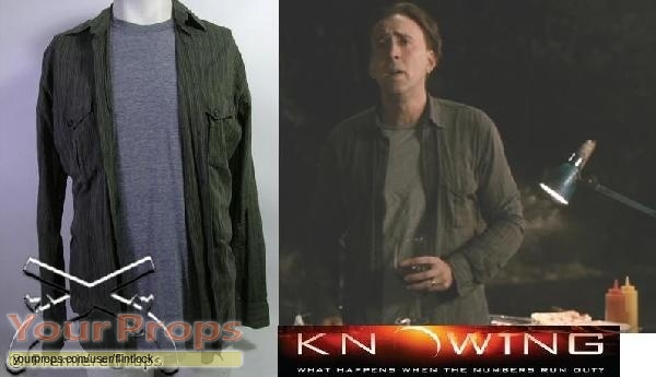 Knowing original movie costume