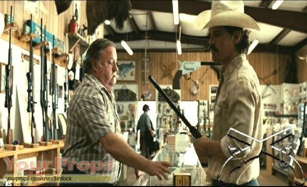 No Country for Old Men original movie prop weapon