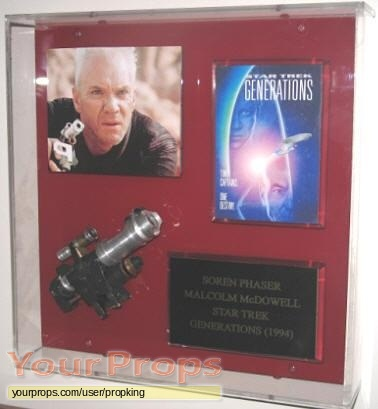 Star Trek  Generations original movie prop