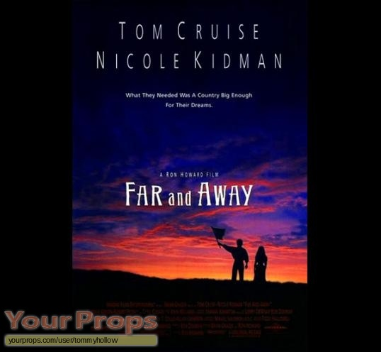 Far And Away original production material