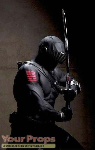 G I  Joe  The Rise Of Cobra original movie prop weapon