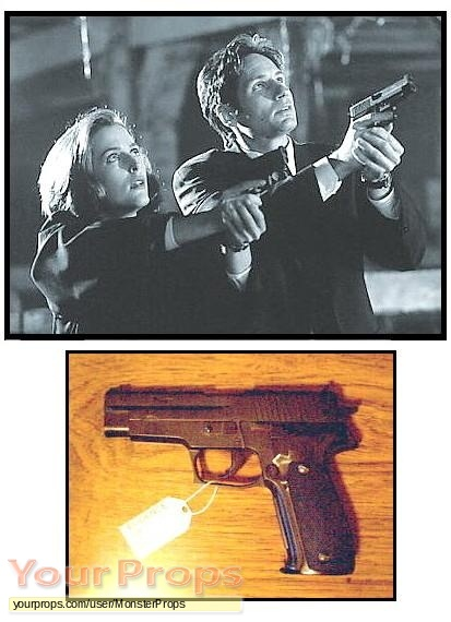 The X Files replica movie prop weapon