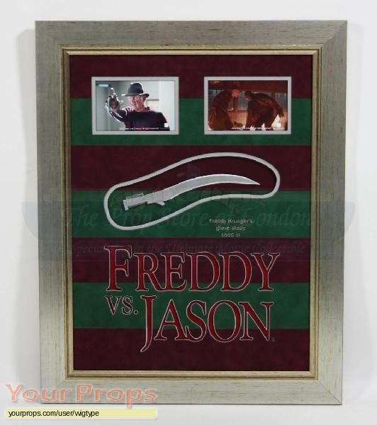 Freddy vs  Jason original movie prop weapon