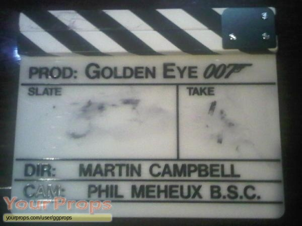 James Bond  Goldeneye original movie prop