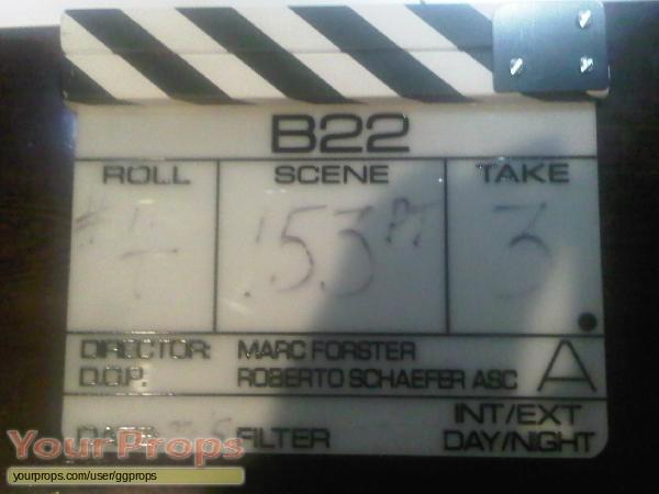 James Bond  Quantum of Solace original movie prop