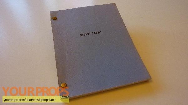 Patton original production material