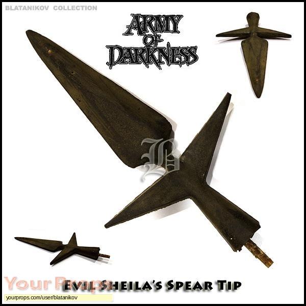 Army of Darkness original movie prop weapon