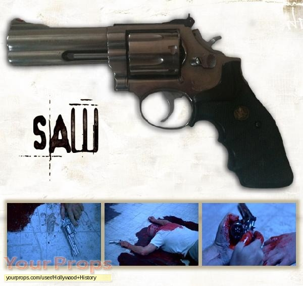 Saw original movie prop weapon