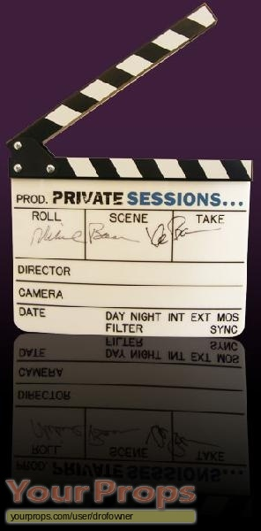 Private Sessions original production material