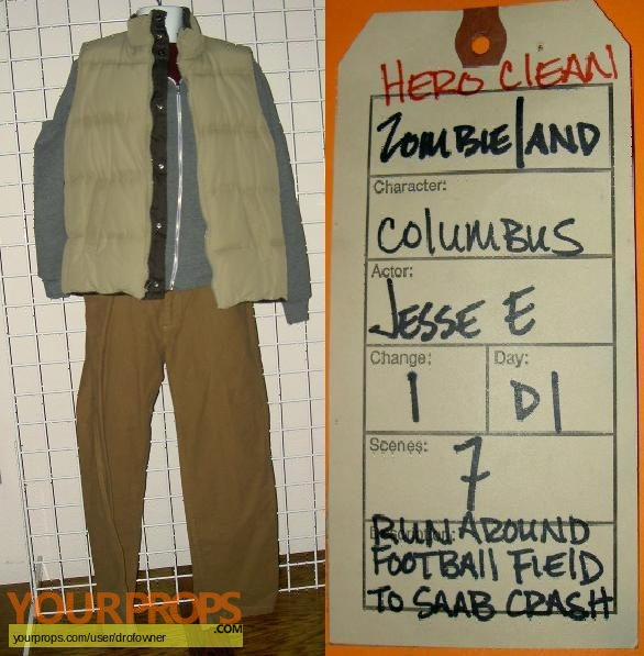 Zombieland original movie costume