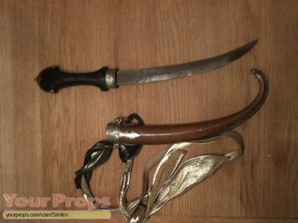 Indiana Jones And The Temple Of Doom original movie prop weapon