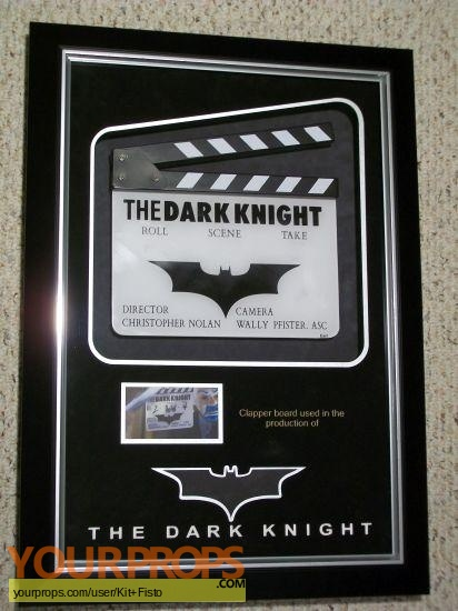 The Dark Knight original production material