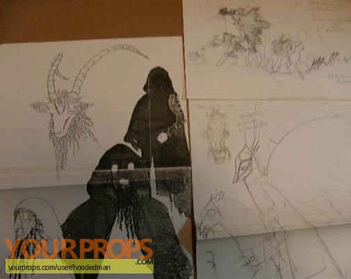Robin of Sherwood original production artwork