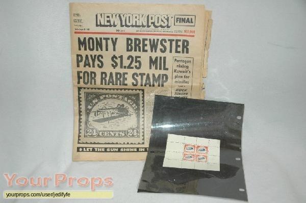Brewsters Millions original movie prop