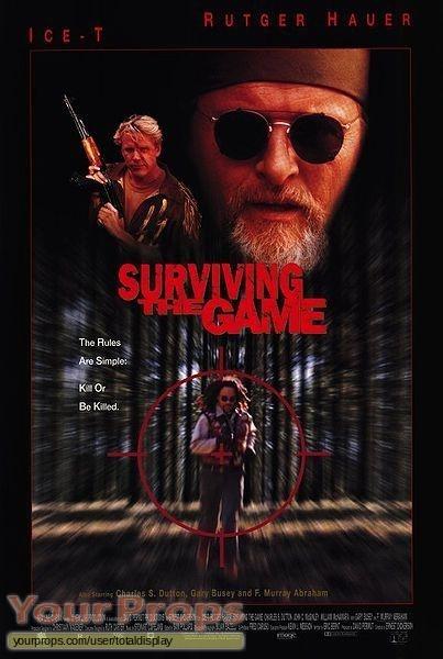 Surviving the Game original movie prop