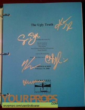 The Ugly Truth original production material