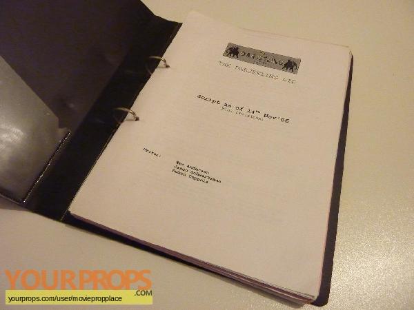 The Darjeeling Limited original production material