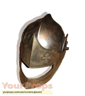 first knight knights helmet original movie prop
