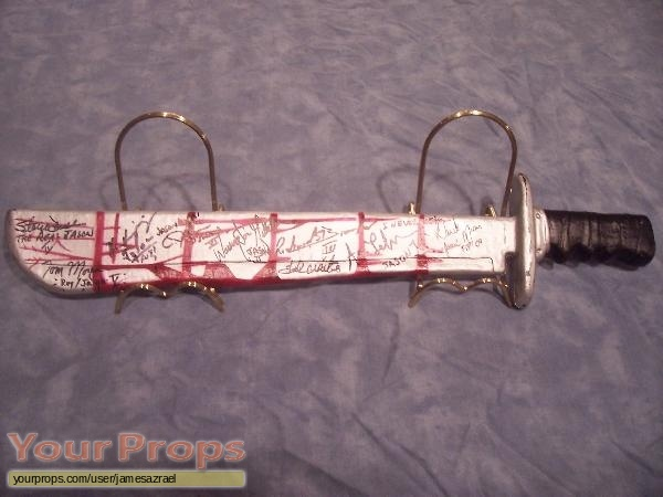 Friday the 13th replica movie prop weapon