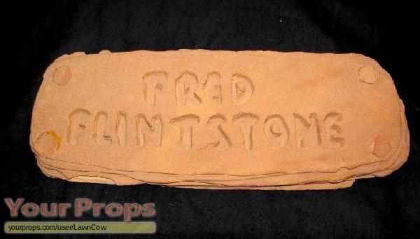The Flintstones original movie prop