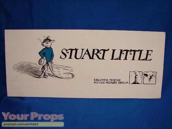 Stuart Little original production material