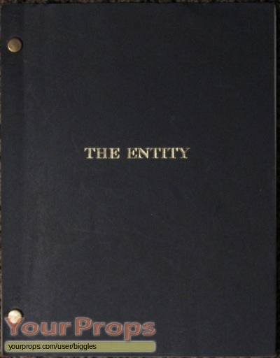 The Entity original production material