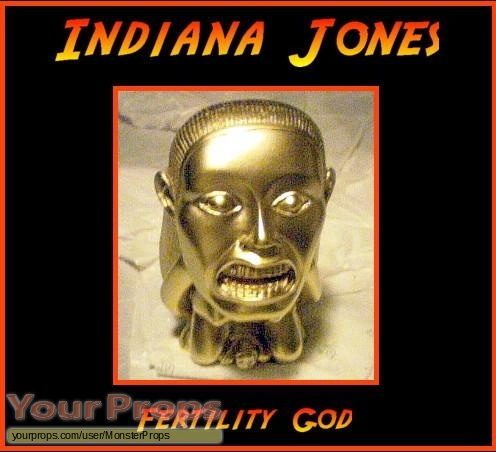 Indiana Jones And The Raiders Of The Lost Ark replica movie prop