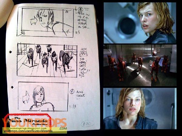 Resident Evil original production artwork