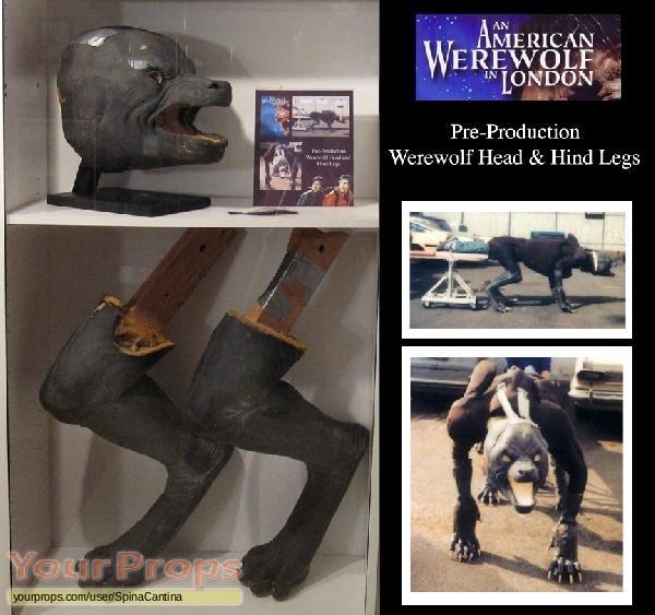 An American Werewolf in London original movie prop