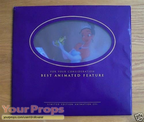 The Princess and the Frog original production material