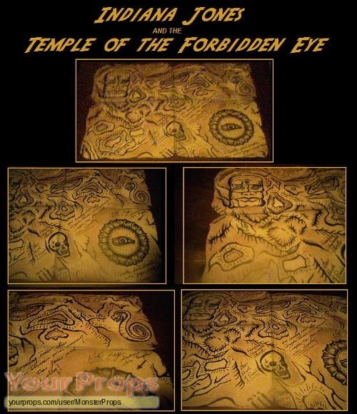 Indiana Jones Adventure  Temple of the Forbidden Eye (The Ride) replica movie prop