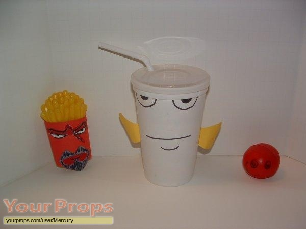 Aqua Teen Hunger Force replica movie prop