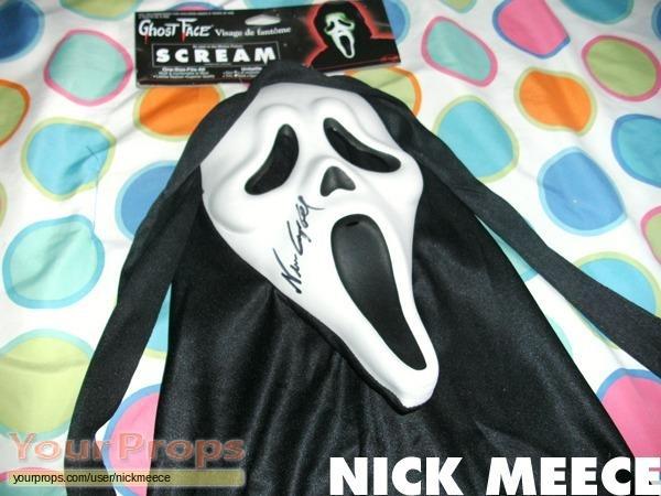 Scream 3 replica movie prop