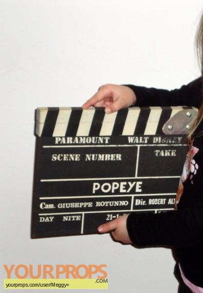 Popeye original production material