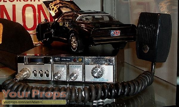 Smokey and the Bandit replica movie prop
