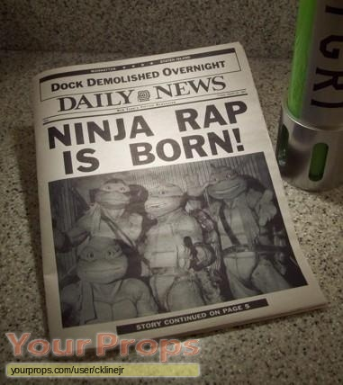 Teenage Mutant Ninja Turtles 2 replica movie prop