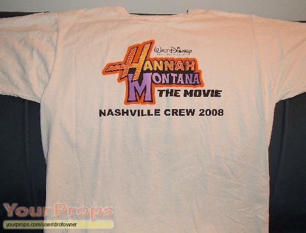 Hannah Montana  The Movie original film-crew items