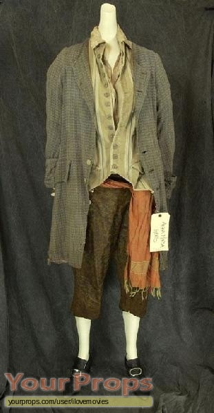 Pirates of the Caribbean  The Curse of The Black Pearl original movie costume