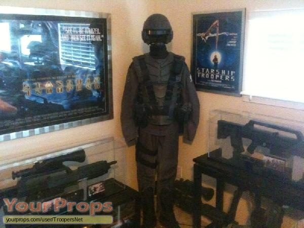 Starship Troopers original movie prop