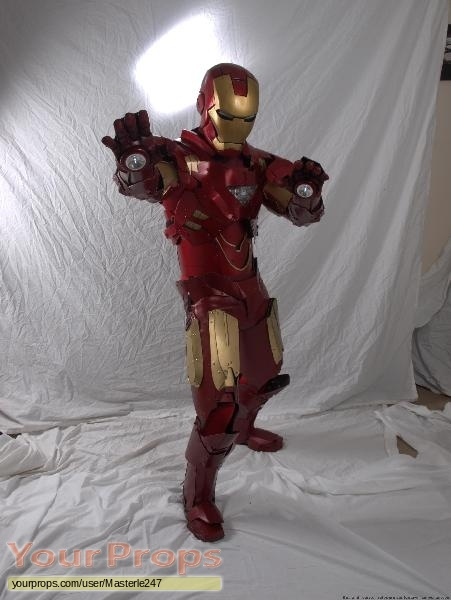 Iron Man 2 replica movie costume