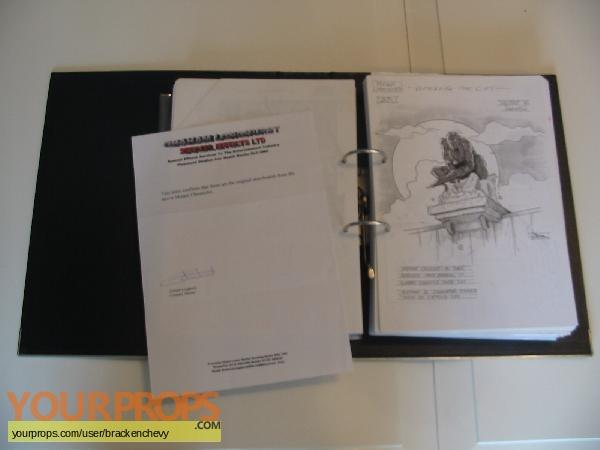 Mutant Chronicles original production artwork