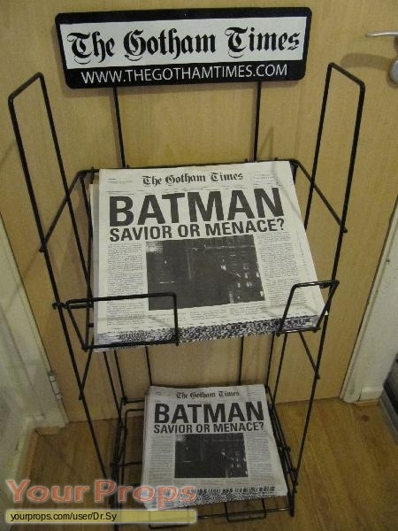The Dark Knight original movie prop