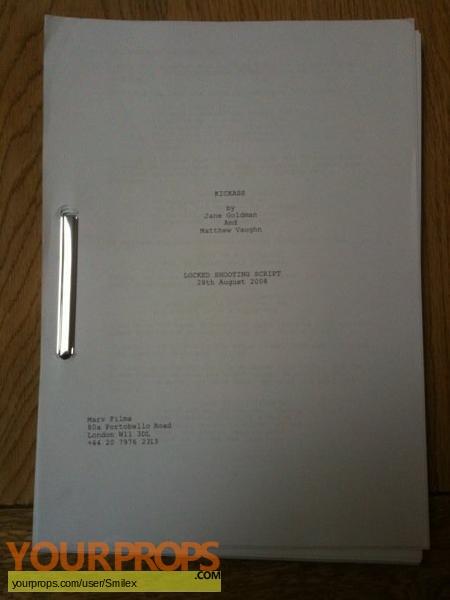 Kick-Ass original production material