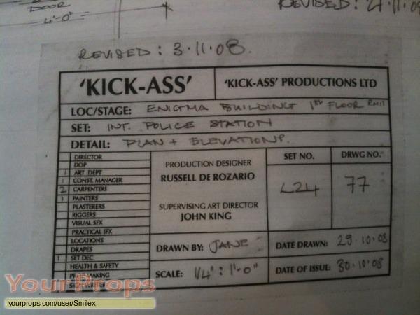 Kick-Ass original production artwork