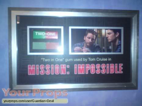 Mission  Impossible original movie prop