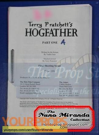 Hogfather original production material