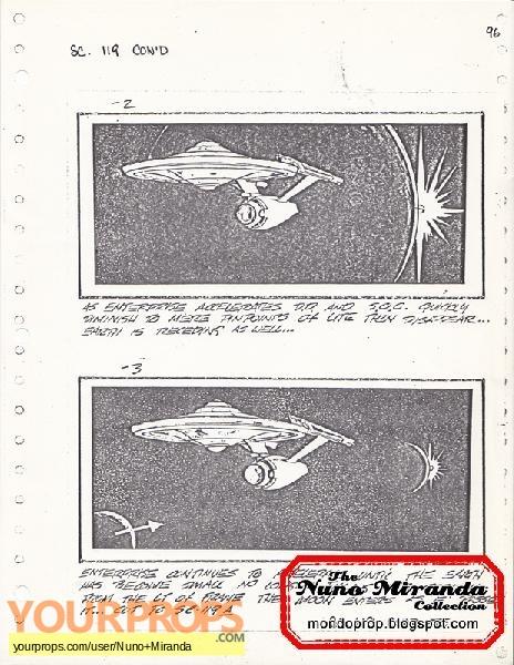 Star Trek - The Motion Picture original production artwork